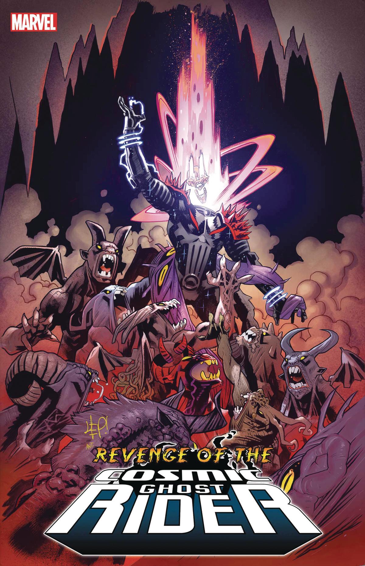 Revenge Of Cosmic Ghost Rider #5 (Of 5) (STL150451)
