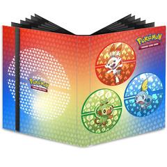Ultra Pro - Pokemon Sword & Shield Galar Starters 9-Pocket PRO-Binder (15352)