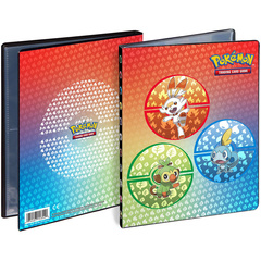 Ultra Pro - Pokemon Sword & Shield Galar Starters 4-Pocket Portfolio