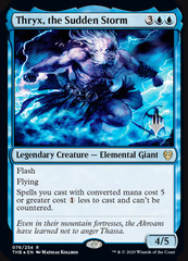 Thryx, the Sudden Storm - Promo Pack