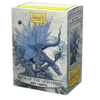 Dragon Shield Matte Art Sleeves: Seer of the God Hand (100ct)