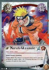 Naruto Uzumaki - Common B - N-025 - Common - Unlimited Edition - Diamond Foil