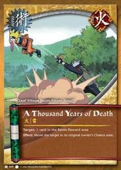A Thousand Years of Death - J-009 - Common - Unlimited Edition