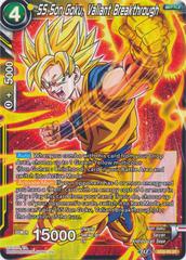 SS Son Goku, Valiant Breakthrough - XD3-05 - ST - Foil