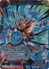 Ultra Instinct Son Goku, Universal Impulse - SD11-03- ST - Gold Stamp Foil
