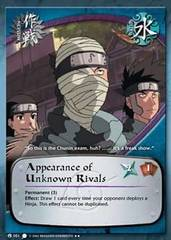 Appearance of Unknown Rivals - M-051 - Rare - 1st Edition - Wavy Foil