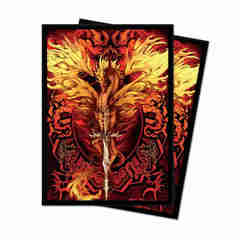 ULTRA PRO: RUTH THOMPSON - FLAMEBLADE DECK PROTECTOR SLEEVES (100CT)
