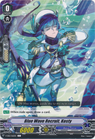 Blue Wave Recruit, Kosty - V-EB12/062EN - C