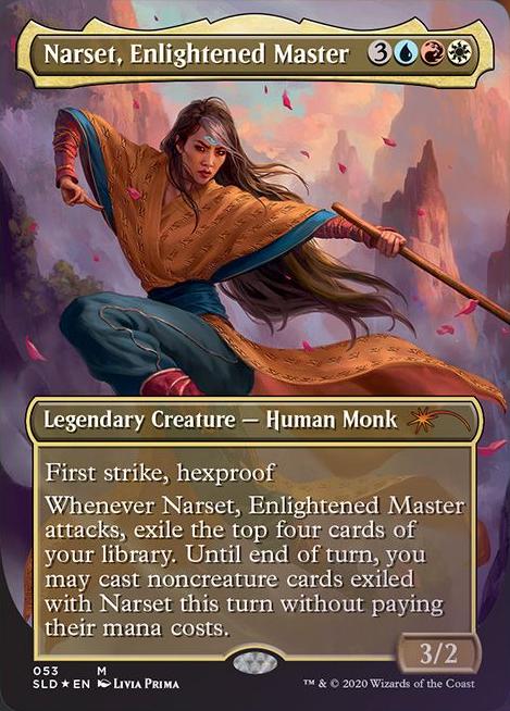 Narset, Enlightened Master - Foil