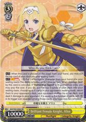 Brilliant Female Knight, Alice - SAO/S65-E004 - RR