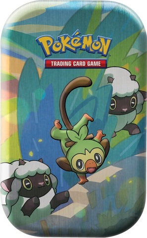 Galar Pals Mini Tin - Grookey & Wooloo