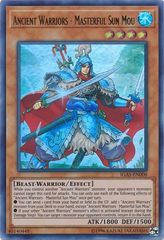 Ancient Warriors - Masterful Sun Mou - IGAS-EN008 - Ultra Rare - Unlimited Edition