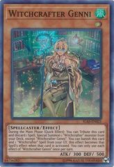 Witchcrafter Genni - IGAS-EN021 - Super Rare - Unlimited Edition