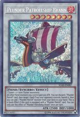 Plunder Patrollship Brann - IGAS-EN087 - Secret Rare - Unlimited Edition
