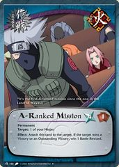 A-Ranked Mission - M-156 - Uncommon - 1st Edition - Wavy Foil