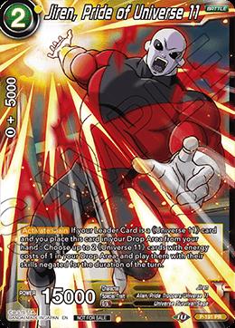 Jiren, Pride of Universe 11 - P-191 - PR