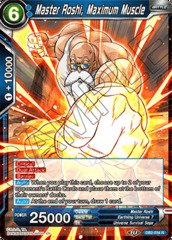 Master Roshi, Maximum Muscle - DB2-034 - R