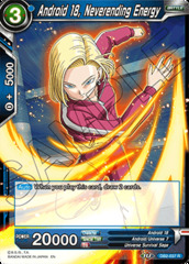 Android 18, Neverending Energy - DB2-037 - R