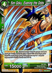 Son Goku, Evening the Odds - DB2-066 - R