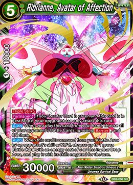 Ribrianne, Avatar of Affection - DB2-068 - SR