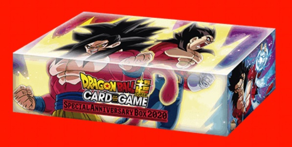 Dragon Ball Super - Expansion Set 13: Special Anniversary Box 2020 - SS4 Goku & Vegeta