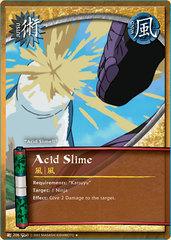 Acid Slime - J-206 - Uncommon - Unlimited Edition - Diamond Foil