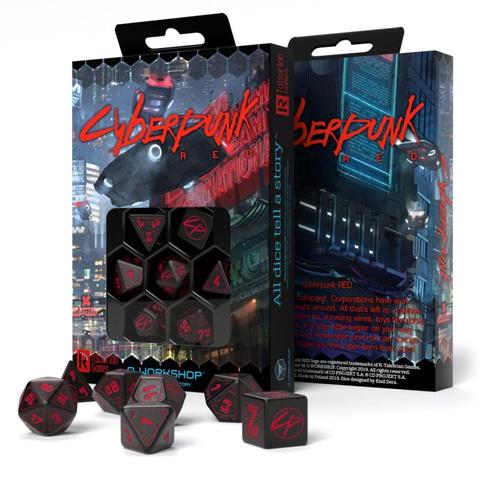 Cyberpunk Red Essential Dice Set