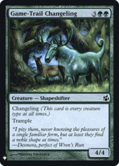 Game-Trail Changeling - Foil