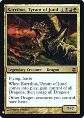Karrthus, Tyrant of Jund - Foil
