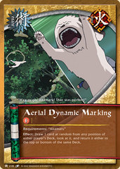 Aerial Dynamic Marking - J-218 - Common - 1st Edition - Wavy Foil