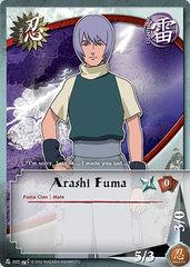 Arashi Fuma - N-303 - Common - 1st Edition - Foil