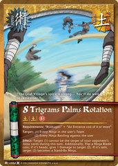8 Trigrams Palms Rotation - J-US064 - Super Rare - Unlimited Edition - Foil
