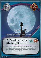 A Shadow in the Moonlight - M-US077 - Uncommon - Unlimited Edition - Foil