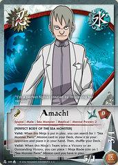 Amachi - N-385 - Rare - 1st Edition - Wavy Foil