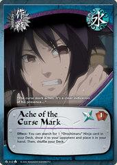 Ache of the Curse Mark - M-313 - Common - Unlimited Edition - Foil
