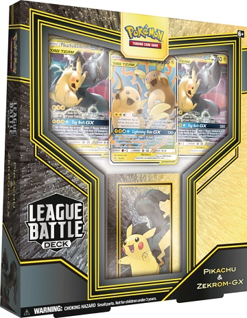 League Battle Decks - Pikachu and Zekrom GX