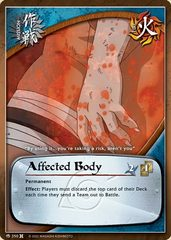 Affected Body - M-350 - Common - 1st Edition - Foil