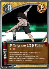 8 Trigrams 128 Palms - J-343 - Rare - Unlimited Edition - Foil
