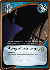 Agony of the Strong - M-404 - Common - Unlimited Edition - Foil