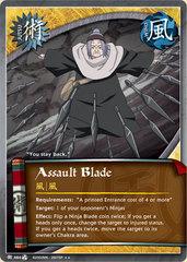 Assault Blade - J-464 - Rare - 1st Edition - Foil
