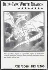 Blue-Eyes White Dragon - DUOV - Oversized