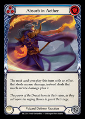 Absorb in Aether (Blue) - 1st Edition