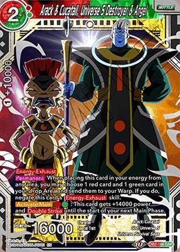 Arack & Cucatail, Universe 5 Destroyer & Angel - DB2-166 - DAR