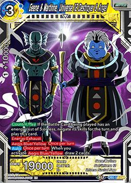 Geene & Martinne, Universe 12 Destroyer & Angel - DB2-169 - DAR