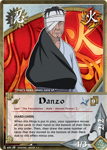 Danzo - N-600 - Rare - Unlimited Edition