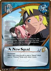 A New Squad - M-487 - Rare - 1st Edition - Foil