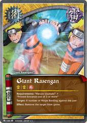 Giant Rasengan - J-538 - Rare - 1st Edition - Foil