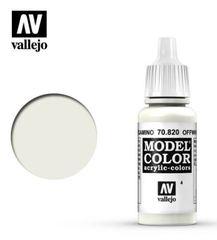 VAL70820 Vallejo Model Color Off White 17ml (004)