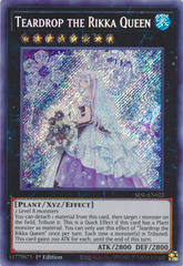Teardrop the Rikka Queen - SESL-EN022 - Secret Rare - 1st Edition