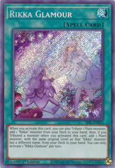 Rikka Glamour - SESL-EN023 - Secret Rare - 1st Edition
